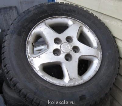 Продам колеса 215 62 R15 5 114.3 зима, шипы, Nokian - IMG_2314.JPG