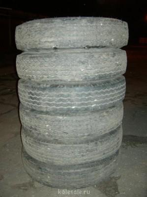 Резина для грузовика Hankook Maxi-Vantage F19 7.50R16LT - DSCN4516.JPG