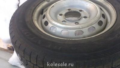 Продам ком-т зимних шин на дисках Hyundai Grand Starex б у - DSC_1140.jpg