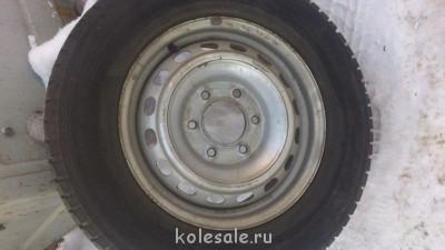 Продам ком-т зимних шин на дисках Hyundai Grand Starex б у - DSC_1142.jpg