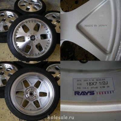 Продам колёса на японских дисках CROWN STEP WGN ALPHARD Odys - picture (1).jpg