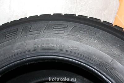 Продам шины Bridgestone Dueler H T D840 245 70 R16 11 - IMG_7753.JPG