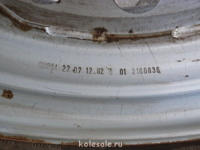 Продают колёса R16 в сборе с зимней резиной на Форд Транзит. - P1060582.JPG