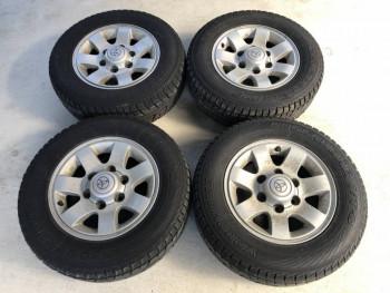 Продам колеса Yokohama Geolandar I T-S на литье для Toyota Hiace 205 70 R15 - i-img1200x900-1578323722goushf218.jpg