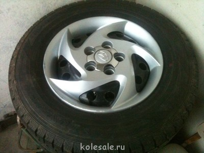 Зимние шины на дисках DUNLOP Graspic - IMG_5179.JPG