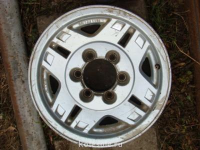 Продам диски литые R15 139.7 на 6 отверстий Иркутская обл - DSC04962.JPG