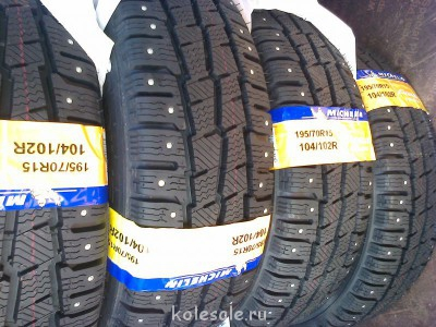 Новые 195 70 15c Michelin Agilis X-ICE North - Фото0035.jpg