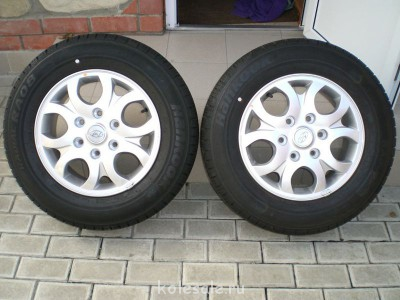 Два колеса в сборе с дисками на Хундай Гранд Старекс, новые. - CIMG6654.JPG