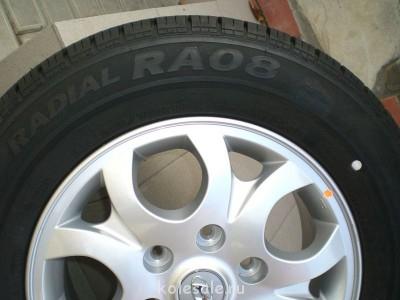 Два колеса в сборе с дисками на Хундай Гранд Старекс, новые. - CIMG6656.JPG